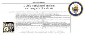 2014 12 01 Il Corriere Vinicolo