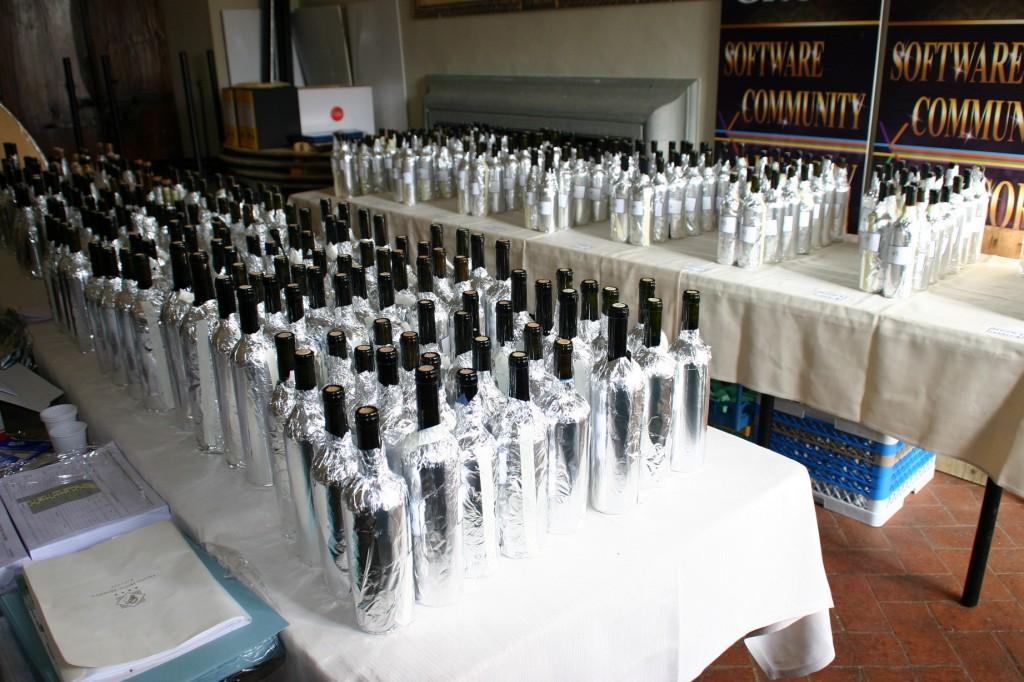 Le bottiglie anonimizzate